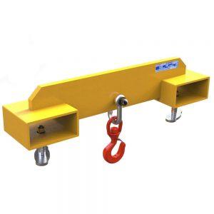 Big Pocket Fork Mounted Hook Adjustable Forklift Hook
