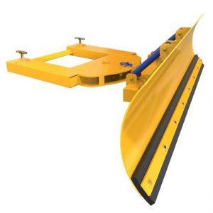 Sprung Forklift Snow Plough