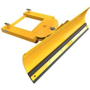 Fork Mounted Adjustable Forklift Snow Plough