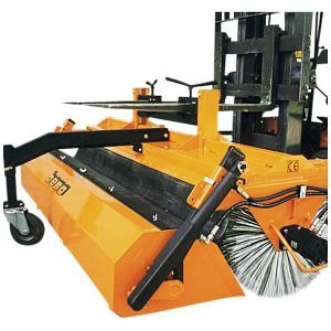 Hydraulic Fork Mounted Forklift Sweeper