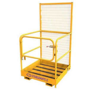 Fork Mounted One Person Gated Access Platform