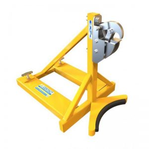 Forklift Mounted Rim Grip Attachment