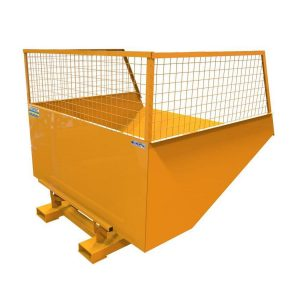 Fork Mounted Mesh Sided Skip
