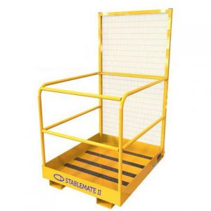 Fork Mounted Two Person Access Cage