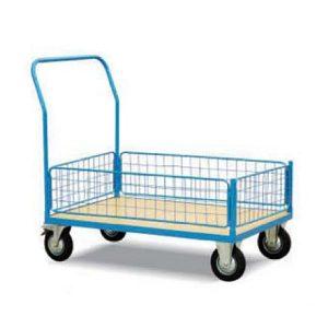Platform Truck - 4 Semi Side - WRZ50G - Material Handling - Warehouse Goods