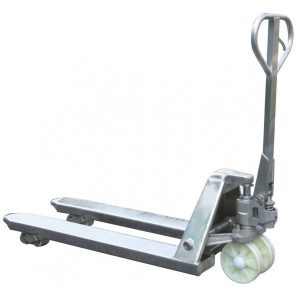 Record BFSS Stainless Steel Pallet Truck