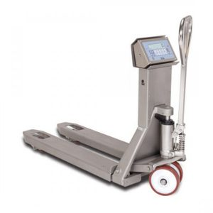 Record WS2000 Stainless Steel Weigh Scale Hand Pallet Truck