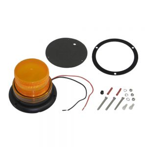 Flashing Beacon - Amber lens, Warehouse Safety, Forklift Attachment