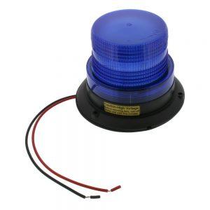 Flashing Beacon - Blue Lens, Xenon Light, Warehouse Safety, Forklift Attachment